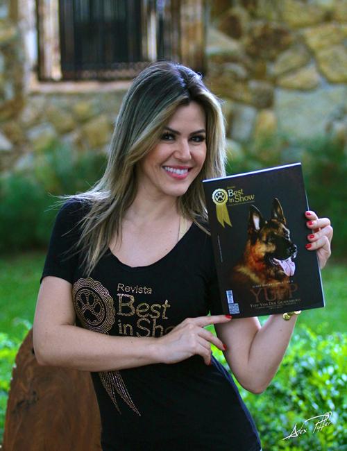 Revista Best in Show entrevista a apresentadora Tânia Oliveira !